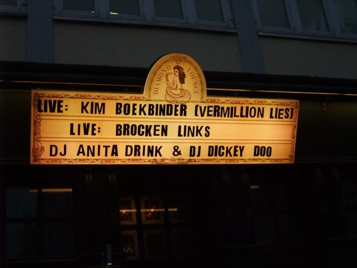 For one night only...!! White Trash, Berlin