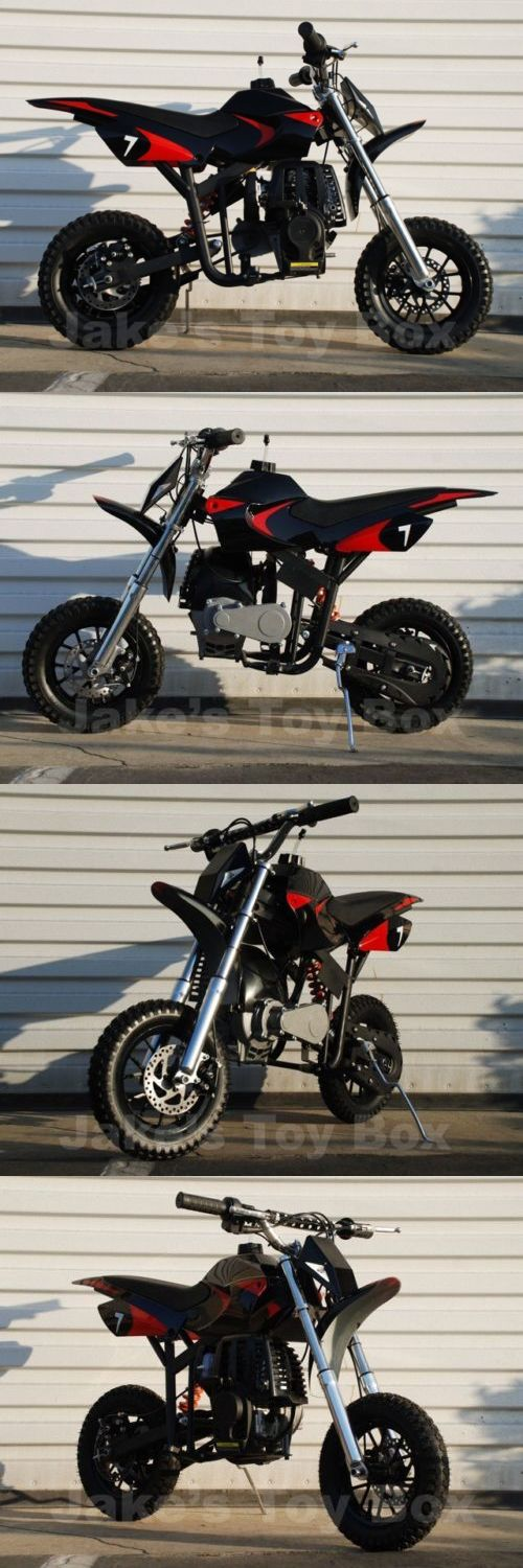 Gas Scooters 75211: Gas Powered Mini Dirt Bike - Pit Bike For Kids - No Mixing, Free Shipping, Black -> BUY IT NOW ONLY: $299 on eBay!