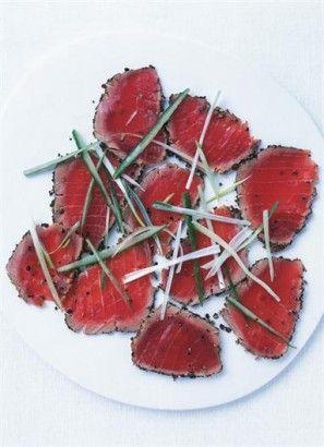 PEPPER-SEARED TUNA   Recipes   Nigella Lawson