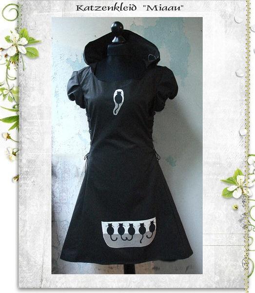 Cat dress, by Evenmoor, DaWanda