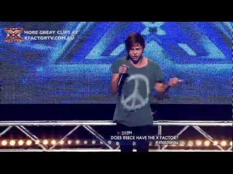 The X Factor 2011 Auditions - Reece Mastin