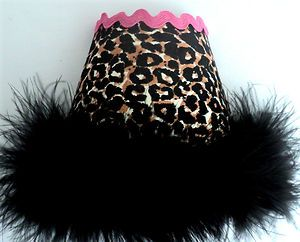 Child Night Light Cheetah Leopard Black Hot Pink Baby Bedroom Nursery Decor Teen | eBay
