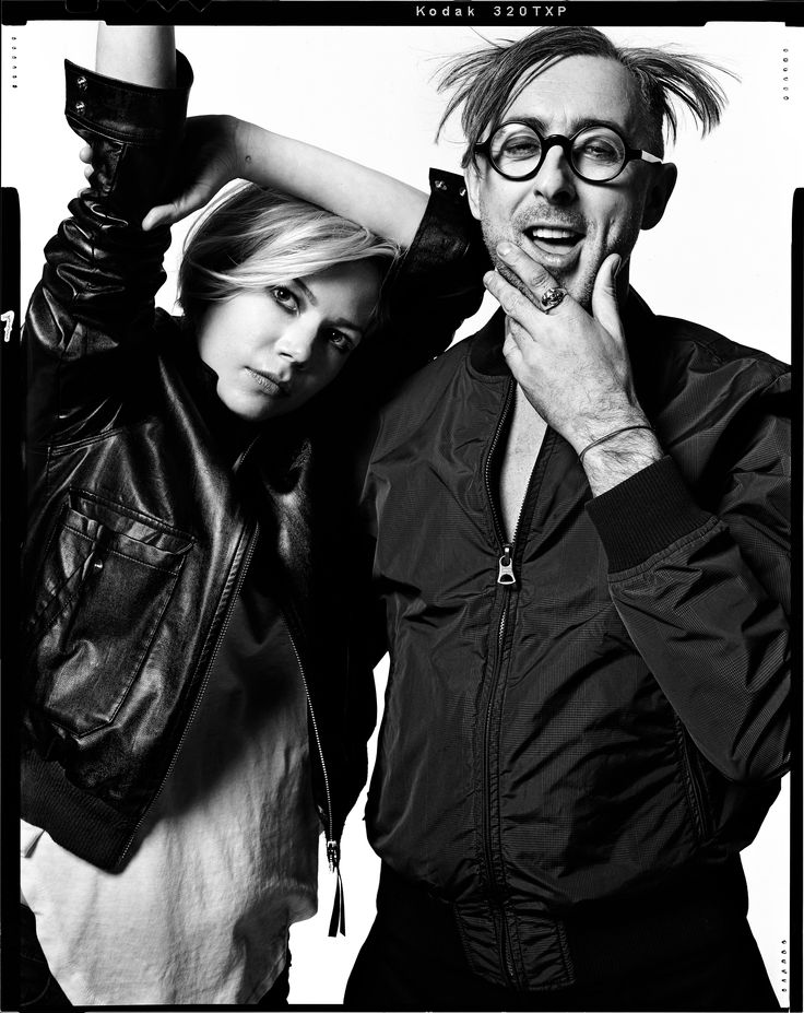 Michelle Williams and Alan Cumming, photographed by Norman Jean Ray for New…