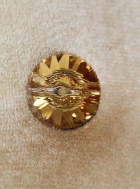 Złoto-bursztynowy kryształ Swarovski