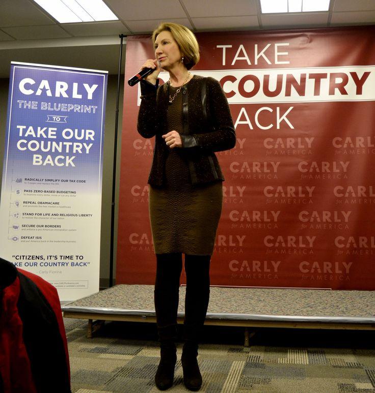 Carly Fiorina presidential campaign, 2016 - Wikipedia