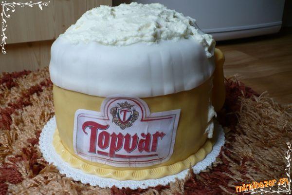pivová tortička