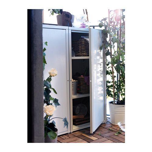 Josef cabinet in outdoor grey dark grey indoor outdoor balconies and ikea outdoor - Ikea outdoor kitchen cabinets ...