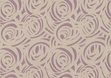 Harlequin Momentum Fabric - Vortex - Amethyst and Silver