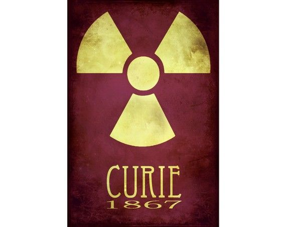 """Marie Curie <3 The artist who made this is amazing and she has many more """"rock star scientists"""" take a look!"""