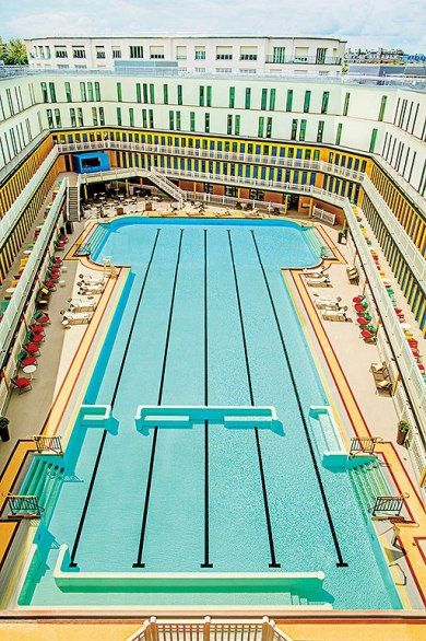 How Piscine Molitor, Paris's Most Famous Pool, Became a Glamorous Hotel : Condé Nast Traveler
