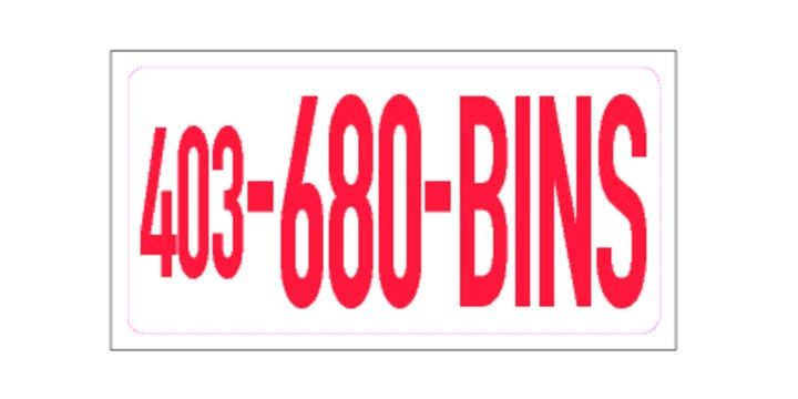 680bins is a wast management company in calgary Alberta .   Waste management Dumpster bins Calgary