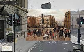 Halley Docherty - quadri storici su google street view