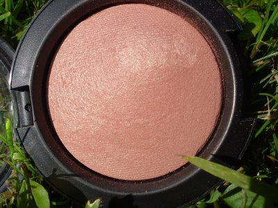 Warm Soul - MAC. beautiful mineralized blush that gives you a healthy looking glow with a slight golden sheen. I swear by this and wear it daily.