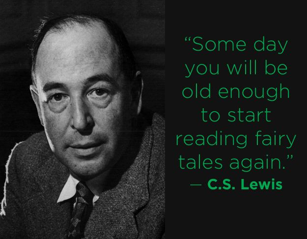 I don't think I ever stopped.   C.S. Lewis - One of the 16 profound literary quotes about getting older - via Buzzfeed.