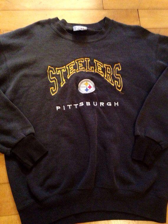 Vintage Pittsburgh Steelers Sweatshirt by 21Vintage on Etsy