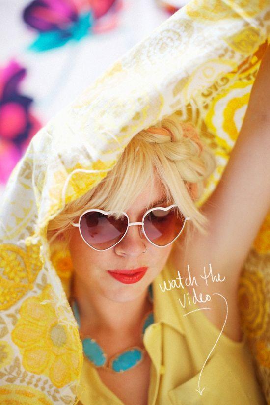 designlovefestBold Fashion, Fashion Shades, Bright Fashion, Oakley Sunglasses, Colors Green, Heart Sunglasses, Colors Yellow, Yellow Bright, Bright Colors