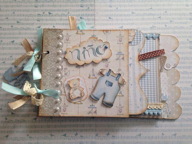 Célèbre 1620 best album scrapbook images on Pinterest | Mini albums, Baby  GB31