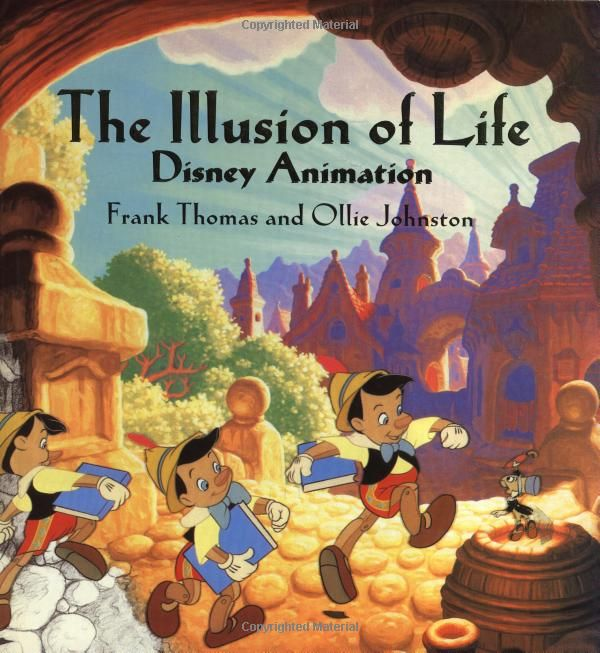 The Illusion of Life, animation bible, probably I've copied every drawing in this in the course of my life