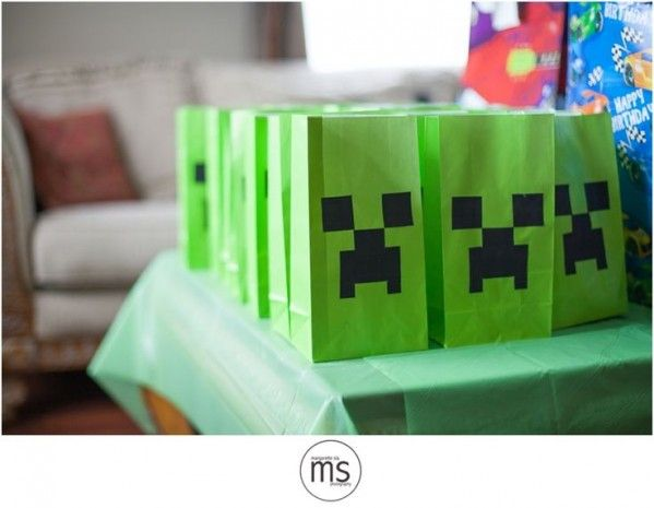 Creeper Party Bags