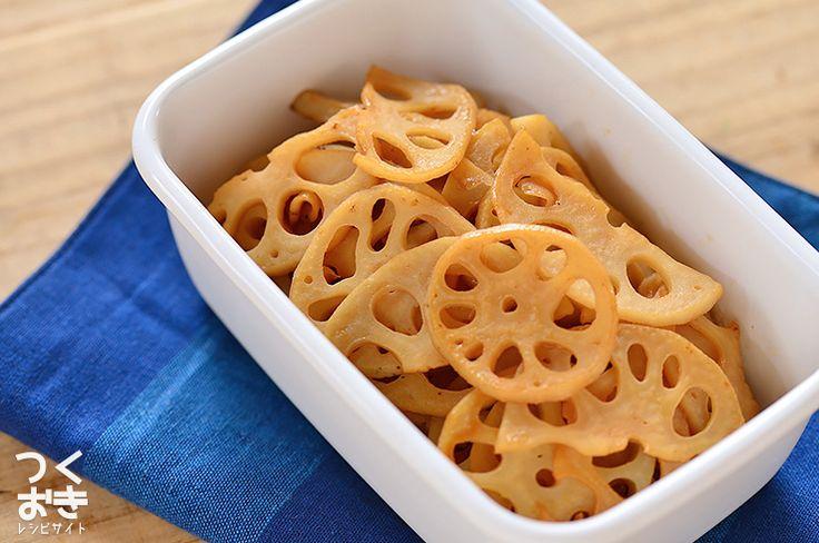 簡単味付け。レンコンのぽん酢きんぴら | 作り置き・常備菜レシピサイト『つくおき』