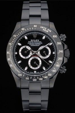 #Rolex #Daytona #Black