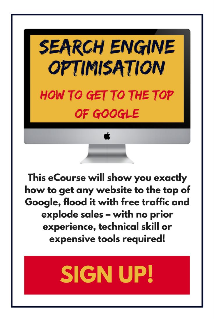 Presented by Europe's #1 bestselling digital marketing author, this comprehensive eCourse will show you exactly how to get any website to the top of Google, flood it with free traffic and explode sales – with no prior experience, technical skill or expensive tools required!