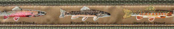 Bison Designs Leather Tip Pontoon Web Belts