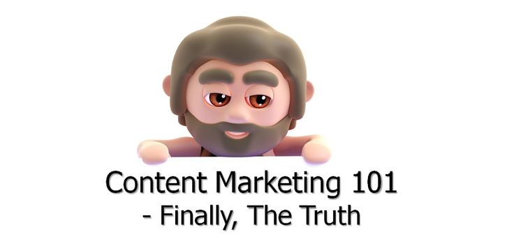 The Truth about #ContentMarketing