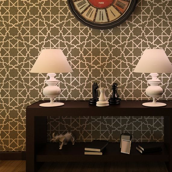 25 Best Ideas About Moroccan Wallpaper On Pinterest: 25+ Best Moroccan Wall Stencils Ideas On Pinterest