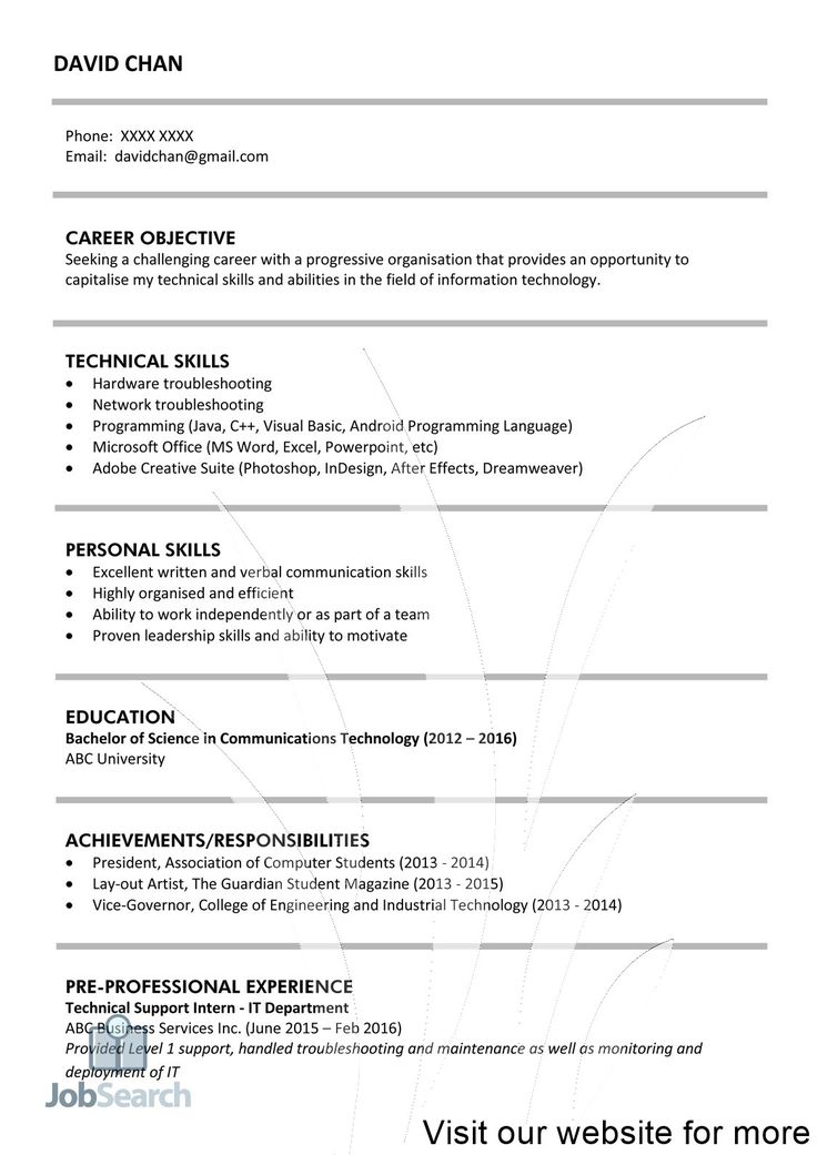 Career Change Resume [2019] Guide to Resume for Career