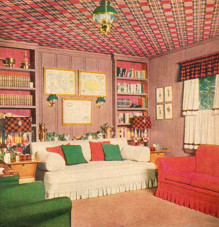 1952 1950s DecorVintage InteriorsModern