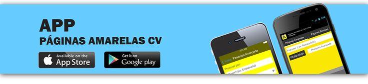 A Páginas Amarelas CV tem vindo a desenvolver produtos e serviços em linha com o avanço das novas tecnologias, concentrando cada vez mais a possibilidade de mobilidade (de pesquisa) nas mãos dos utilizadores. Páginas Amarelas mobile. mais em www.paginasamarelas.cv
