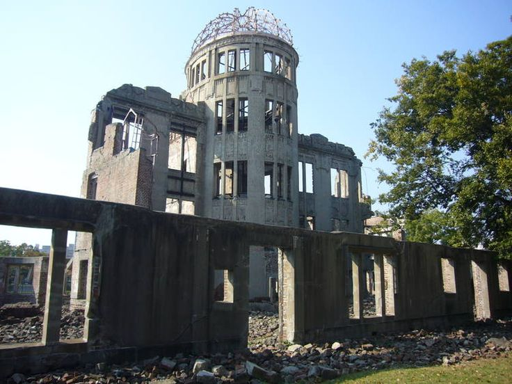 Hiroshima Peace Memorial (Genbaku Dome) The Hiroshima Peace Memorial (Genbaku Dome) was the only structure left standing in the area where the first atomic bomb exploded on 6 August 1945.