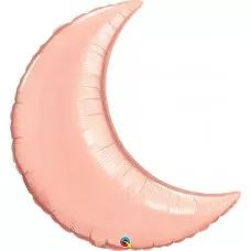 CRESCENT MOON ROSE GOLD 35in.