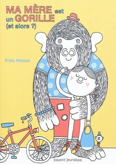 """Avis des élèves : """"J'ai beaucoup aimé le livre """"ma mère est un gorille, et alors ?"""", car il est rigolo, mais aussi un peu triste."""" Justine 6ème"""