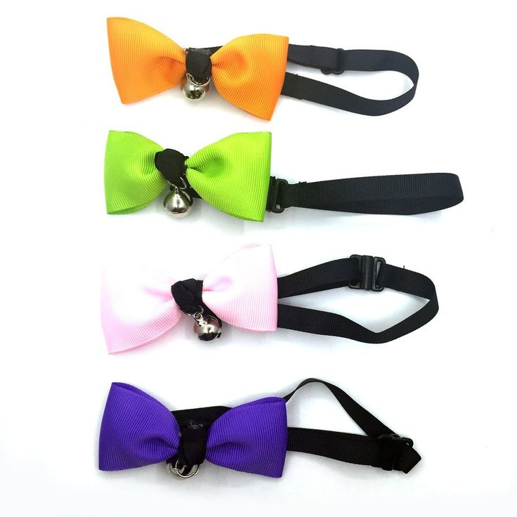 WATFOON 4-PCS Set Bow-Tie Collar with Bell for Cats and Small Dogs > Insider's special review you can't miss. Read more  : Cat Collar, Harness and Leash