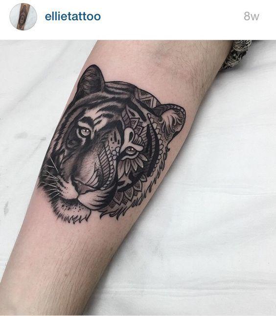 25 beautiful tiger tattoo sleeve ideas on pinterest arm tattoos tiger tiger forearm tattoo. Black Bedroom Furniture Sets. Home Design Ideas
