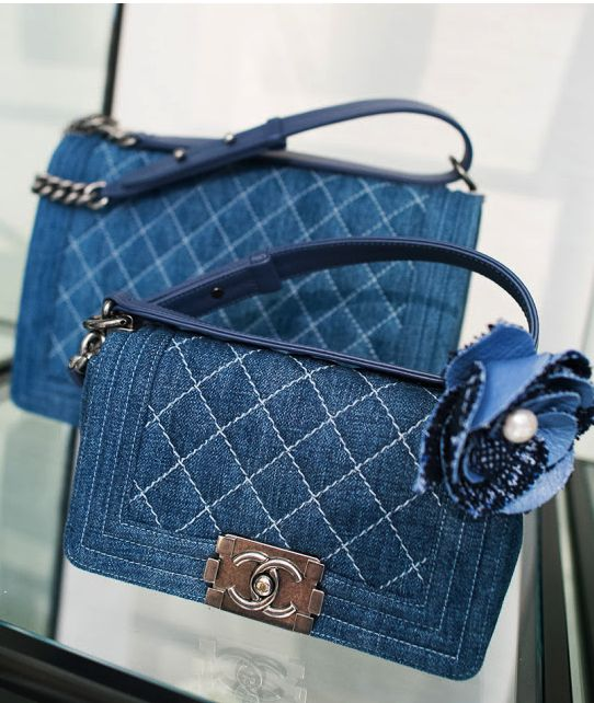 Chanel Denim Bags <3                                                       �