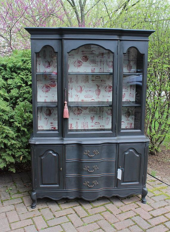 French China Cabinet  sold hold for Julia by LaVantteHome on Etsy, $850.00