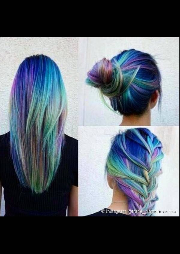 1708 best images about rockin 39 these colorful locks on for Beautiful pastel colors