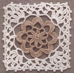 crochet lace lower motif