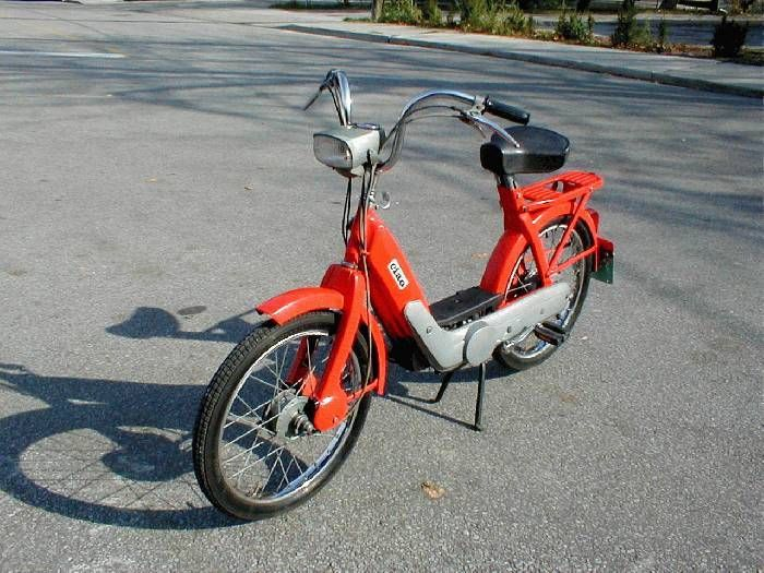 1968 Vespa Ciao (Orange)