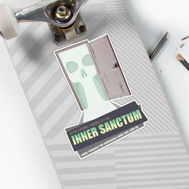 Inner Sanctum Sticker #stickerart #sticker #stickers #OTR #oldtimeradio #innersactum #innersanctummysteries #radiodrama #radio