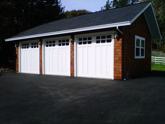 Custom Three Car Garage By Tuff Shed Storage Buildings