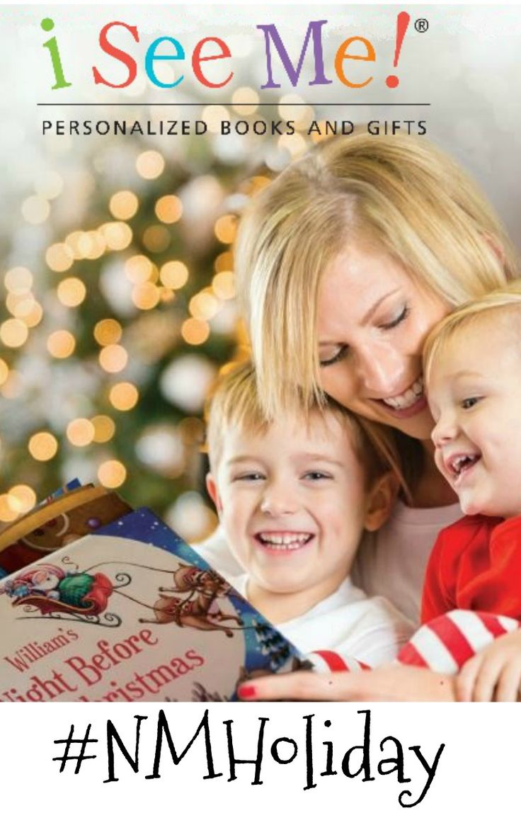 i See Me! Personalized Children's Books & Gifts #NMHoliday #Giveaway