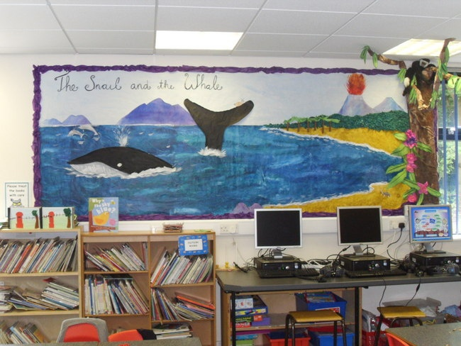 The Snail and the Whale, I don't care what grade I teach.