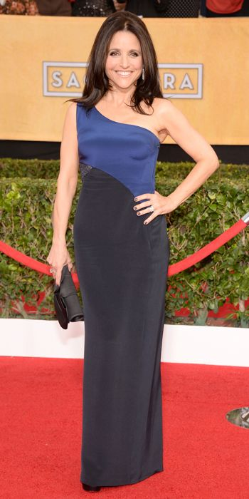SAG 2014 Red Carpet Arrivals - Julia Louis-Dreyfus from #InStyle