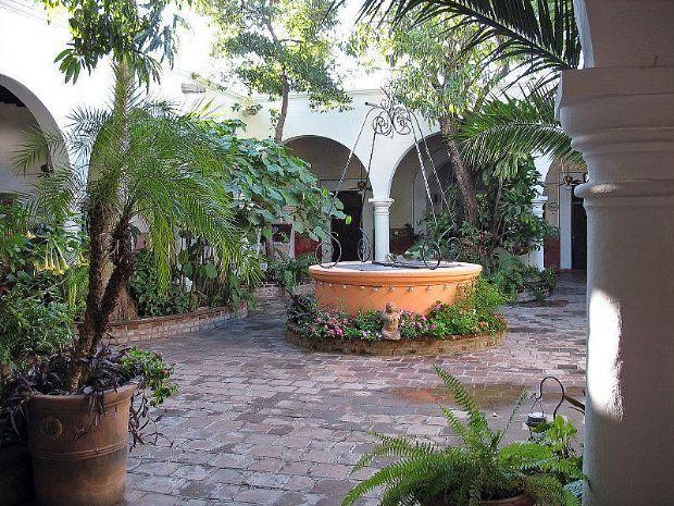 estilos de jardines coloniales diario los andes