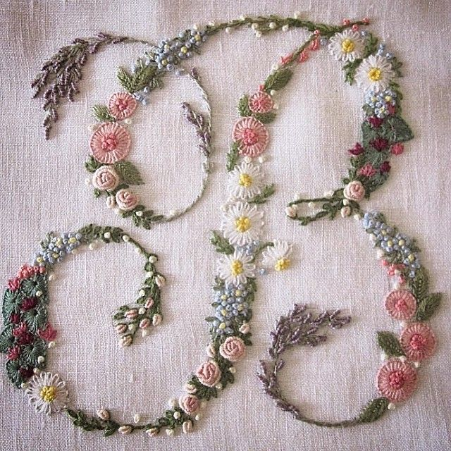 """411 Likes, 59 Comments - Jenny Rose-Innes (@jennyroseinnes) on Instagram: """"I used to do floral embroidery... This is not mine.. An image I found on #Pinterest which has…"""""""