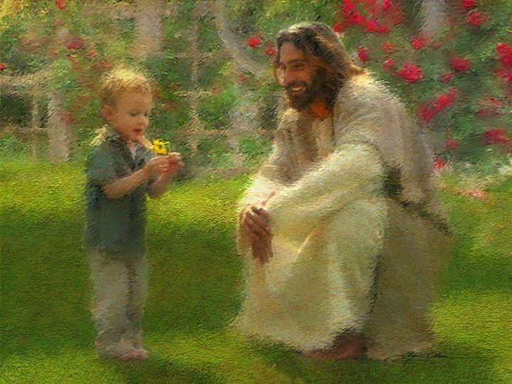 A Pitypang - Gyermek Jézussal  (The Dandelion)
